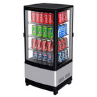 Turbo Air CRT-77-2R Diamond Swing Pass-Through Countertop Display Refrigerator with Swing Doors - 3 cu. ft.