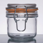 Anchor Hocking Condiment Jars and Jar Holders
