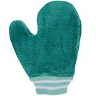 Green Microfiber Cleaning Mitt with Thumb