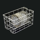 10 Strawberry Street WPLTR12 12 Compartment Catering Plate Rack for Porcelain Charger Plates up to 12 inch - Wash, Store, Transport