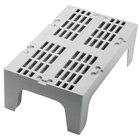 Cambro DRS480 48 inch x 21 inch x 12 inch Slotted Top Bow Tie Dunnage Rack - 3000 lb. Capacity