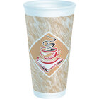 Dart Solo 20X16G 20 oz. Customizable Espresso Foam Cup 500/Case