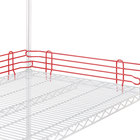 Metro L60N-4-DF Super Erecta Flame Red Stackable Ledge 60 inch x 4 inch