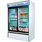 Turbo Air TGM-48R White 56 inch Two Sliding Glass Door Refrigerator - 48 Cu. Ft.