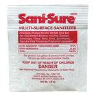 Diversey Sani-Sure 1/8 oz. Multi-Surface Sanitizer Packet - 100/Case