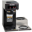 Bunn 13300.0013 VP17-3 Low Profile Pourover Coffee Brewer with 3 Warmers