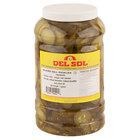 Del Sol Kosher Dill Pickle Chips 1 Gallon Jars - 4/Case