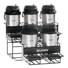 Bunn 35728.0004 UNIV-5 APR Two Tier Five Pot Universal Airpot Rack