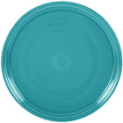Homer Laughlin 505107 Fiesta Turquoise 15 inch China Pizza / Baking Tray   - 4/Case