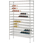 153 Bottle Metro WC238C Super Erecta Cradle Wine Rack 36 inch x 14 inch x 86 3/4 inch