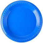 Dart Solo PS75B-0099 7 inch Blue Plastic Plate - 500/Case