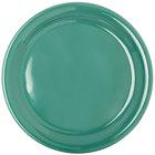 Carlisle 4300409 Durus 9 inch Green Narrow Rim Melamine Plate - 24/Case