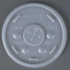 Dart Solo 10SL Translucent Lid with Straw Slot - 1000/Case
