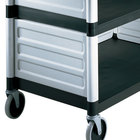 Cambro BC340KDP480 Speckled Gray Single Shelf Panel Set