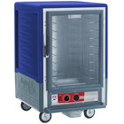 Metro C535-HFC-L-BU C5 3 Series Heated Holding Cabinet with Clear Door - Blue