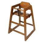 Wooden Restaurant High Chairs