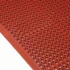 Cactus Mat 4420-RS VIP Duralok 3' x 5' Red Grease-Resistant Anti-Fatigue Anti-Slip Floor Mat - 3/4 inch Thick