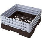 Cambro BR712167 Brown Camrack Full Size Open Base Rack with 3 Extenders