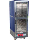 Metro C539-HDC-4-BU C5 3 Series Heated Holding Cabinet with Clear Dutch Doors - Blue