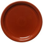 Homer Laughlin 465334 Fiesta Paprika 9 inch Luncheon Plate - 12/Case