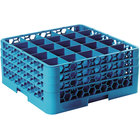 Carlisle RG25-314 25 OptiClean Compartment Glass Rack with 3 Extenders