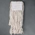 Continental A401016 Small Cut End Natural Cotton Mop Head with 5 inch Band