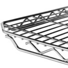 Metro 2148QC qwikSLOT Chrome Wire Shelf - 21 inch x 48 inch