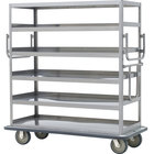 Metro MQ-609F Queen Mary Banquet Service Cart with 6 Flat Shelves
