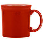 Homer Laughlin 570326 Fiesta Scarlet 12 oz. Java Mug - 12 / Case