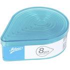 Ateco 5702 8-Piece Polycarbonate Fluted Teardrop Cutter Set (August Thomsen)