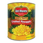 Coarse Crushed Pineapple in Juice #10 Cans - 6/Case