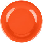 Carlisle 3302452 12 inch Sunset Orange Sierrus Wide Rim Plate - 12/Case
