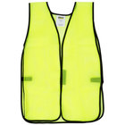 Lime High Visibility Safety Vest - 25 inch x 18 inch