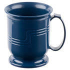 Cambro MDSM8497 Navy Blue Insulated 8 oz. Mug - Shoreline Meal Delivery System 12 / Pack