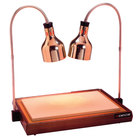 Cres Cor CSH-122-10PB Carving Station with Dual Heat Lamps - 32 1/2 inch x 23 1/4 inch