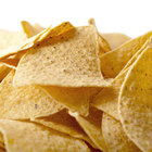 Snyder's of Hanover Yellow Triangular Corn Chips 1 lb. Bags   - 6/Case