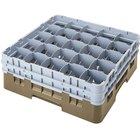 Cambro Full Size 25 Compartment Glass Racks, 11