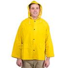 Yellow 2 Piece Rain Jacket - 4XL