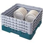 Cambro CRP12910414 Teal Full Size PlateSafe Camrack 9-10 1/2 inch