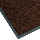 Teknor Apex NoTrax T37 Atlantic Olefin 434-318 3' x 10' Dark Toast Carpet Entrance Floor Mat - 3/8 inch Thick