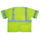 Lime Class 3 High Visibility Safety Vest - XXXL