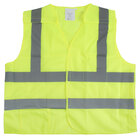 Lime Class 2 High Visibility 5 Point Breakaway Safety Vest - Medium