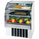 Beverage Air CDR3/1-W-20 White Curved Glass Refrigerated Bakery Display Case 37 inch - 13.4 Cu. Ft.