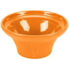 Homer Laughlin 431325 Fiesta Tangerine 1.25 Qt. Hostess Serving Bowl - 4 / Case