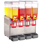 Cecilware Arctic Economy 20/4PE Quadruple 5.4 Gallon Bowl Premix Cold Beverage Dispenser