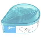 Ateco 5758 7-Piece Polycarbonate Plain Fan Cutter Set (August Thomsen)
