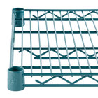 Regency 24 inch x 36 inch NSF Green Epoxy Wire Shelf