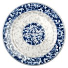 Thunder Group 1008DL Blue Dragon 7 7/8 inch Round Melamine Plate - 12/Pack