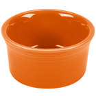 Homer Laughlin 568325 Fiesta Tangerine 8 oz. Ramekin - 6 / Case