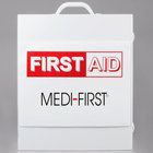 Medique 745M1 896 Piece First Aid Kit Cabinet Three Shelf